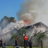 Fire destroys home behind Brownsville business_78886169-159532