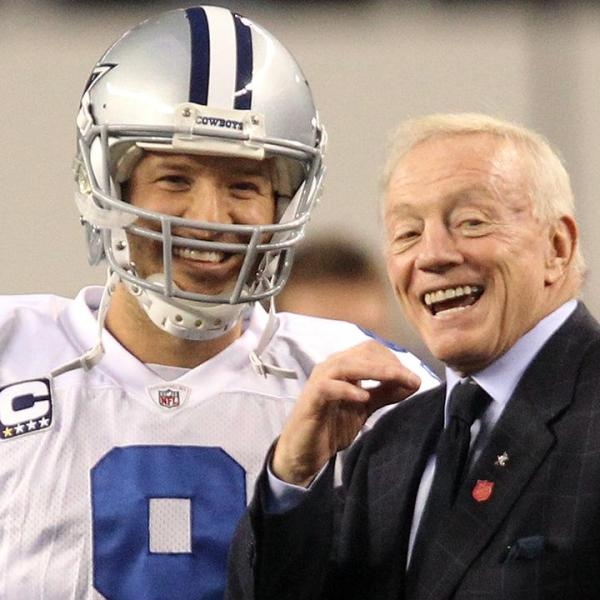 Jerry Jones says Tony Romo remains Cowboys- No- 1 quarterback_57734931-159532