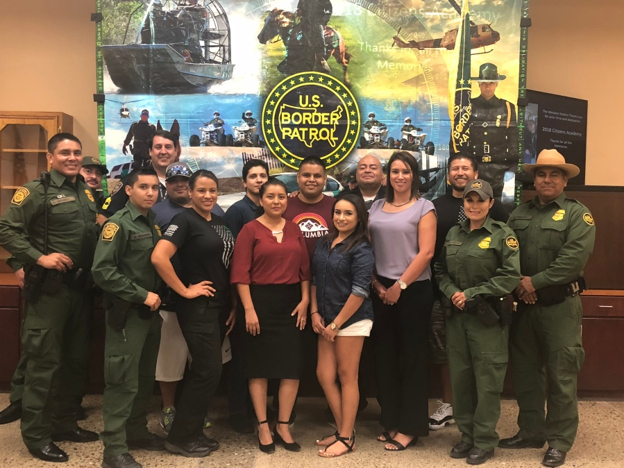 Border Patrol Hosts Citizens Academy Graduation
