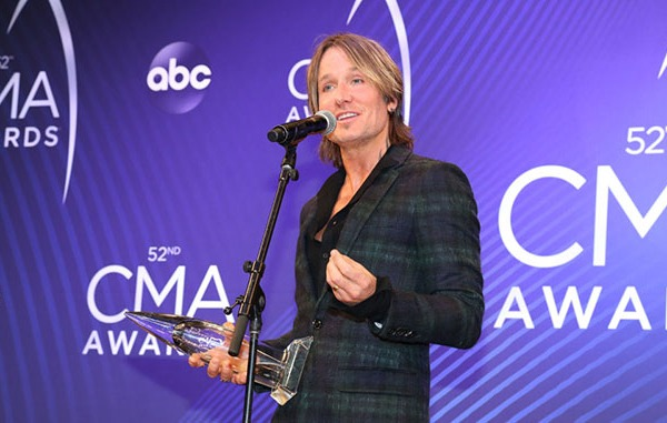Keith Urban Backstage-873703986