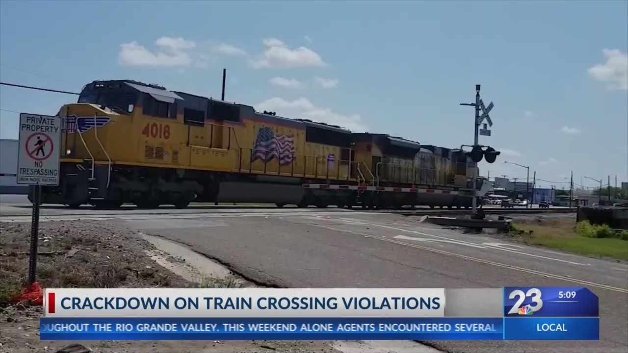 Police Crackdown on Illegal Train Crossings