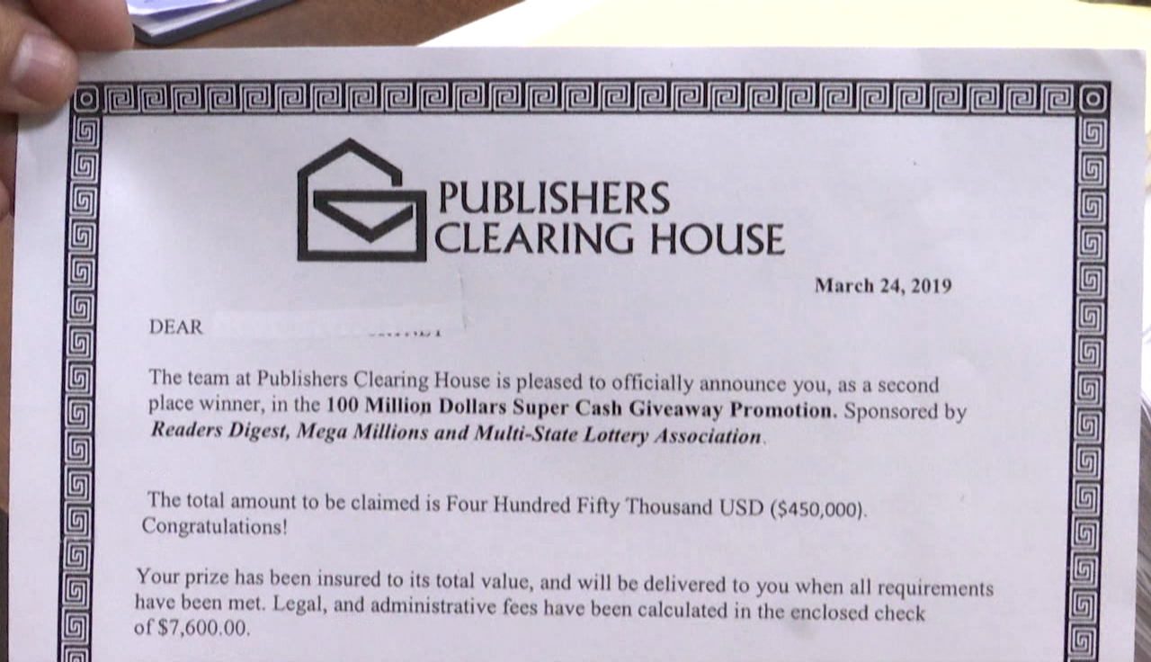 Police looking into scam using well known marketing company's name
