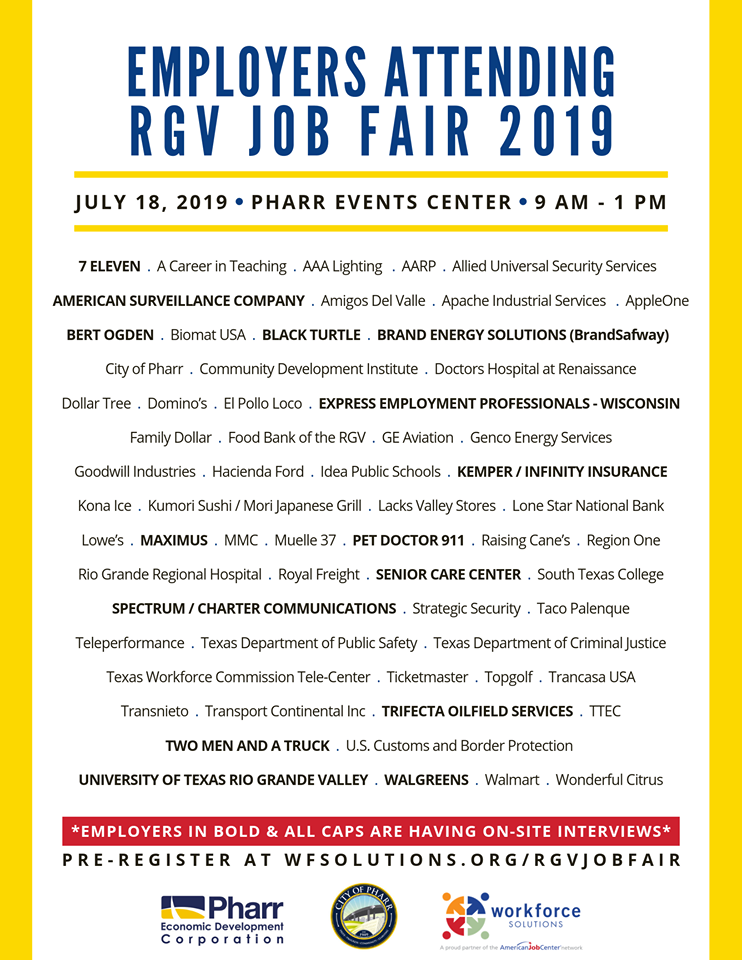 Job fair aiming to keep unemployment numbers low | KVEO-TV