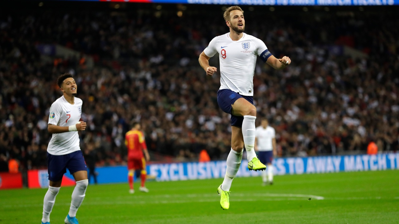 Calendrier De Match Euro 2020.Kane Nets Hat Trick And Helps England Seal Euro 2020 Spot
